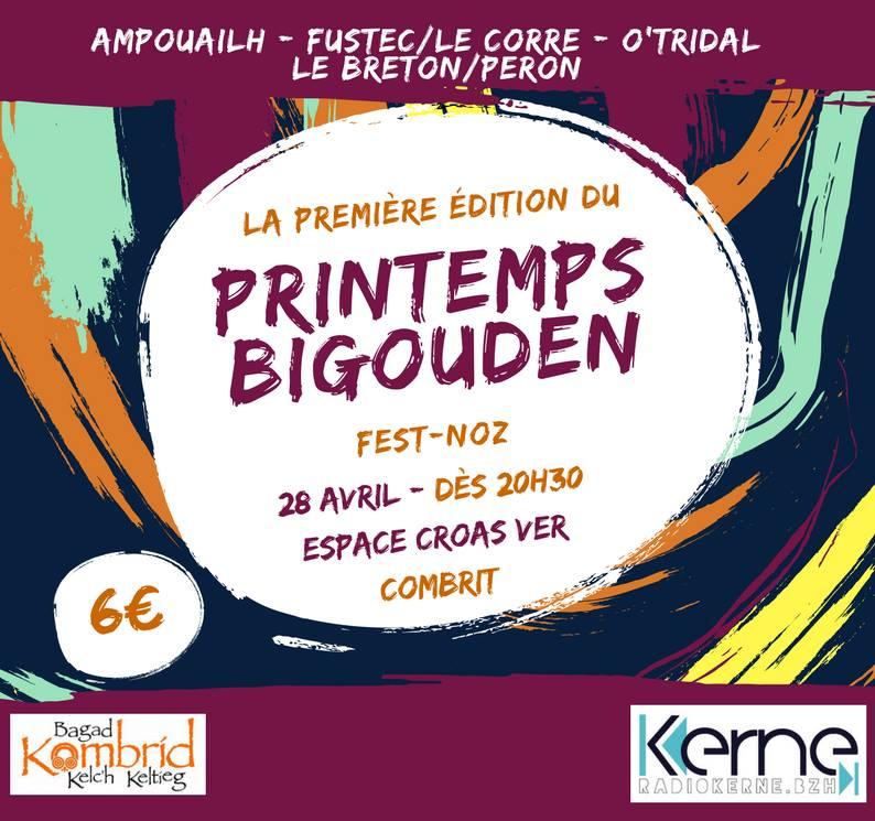 Première édition du Printemps bigouden - Fest-noz