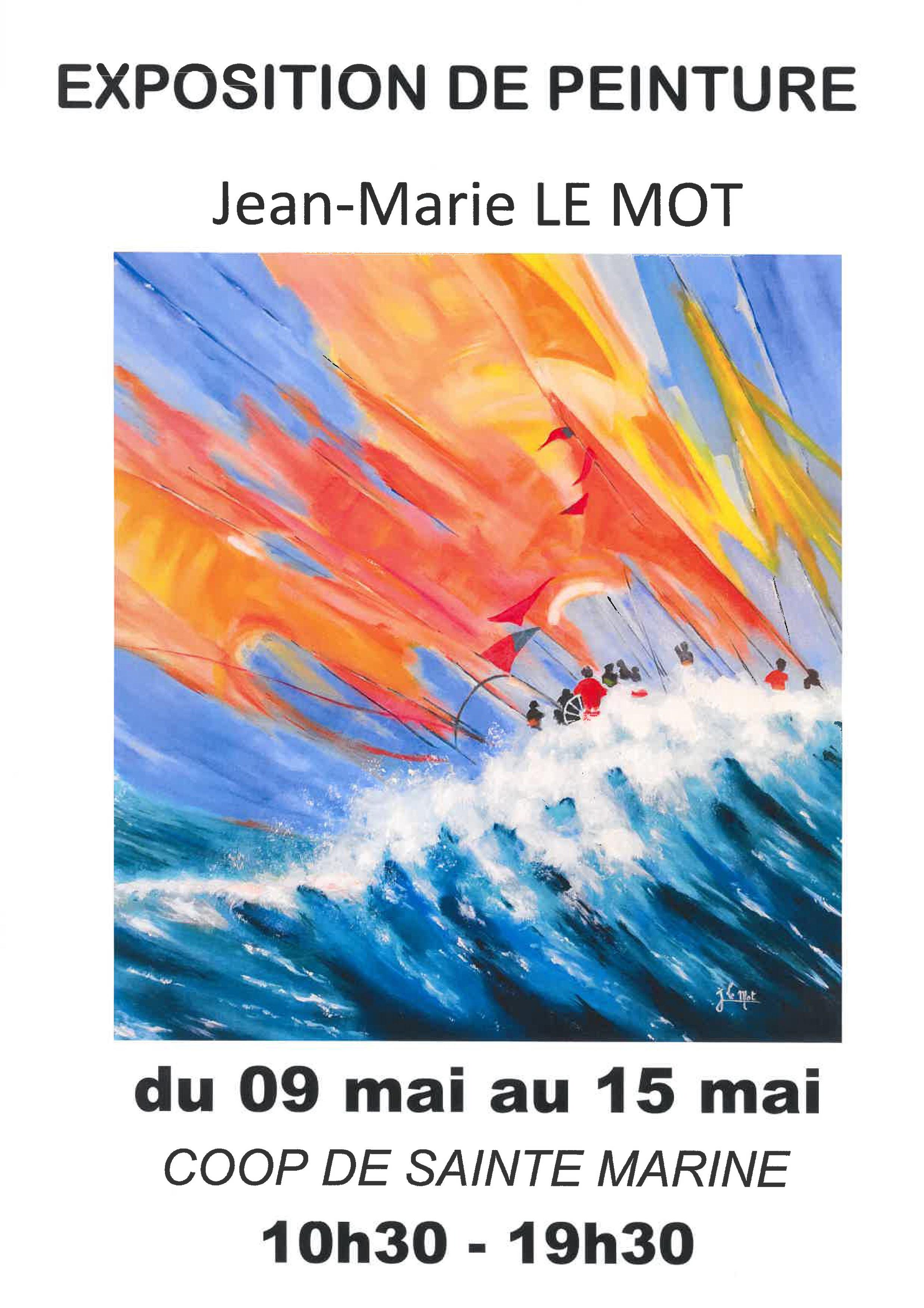 Exposition de Jean Le Mot