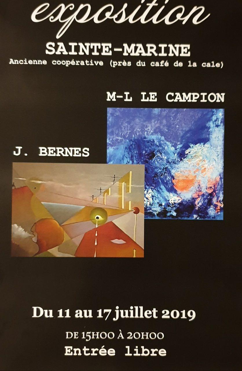 Exposition de Marie-Lise Le Campion