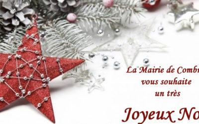 Carte de Noël Mairie