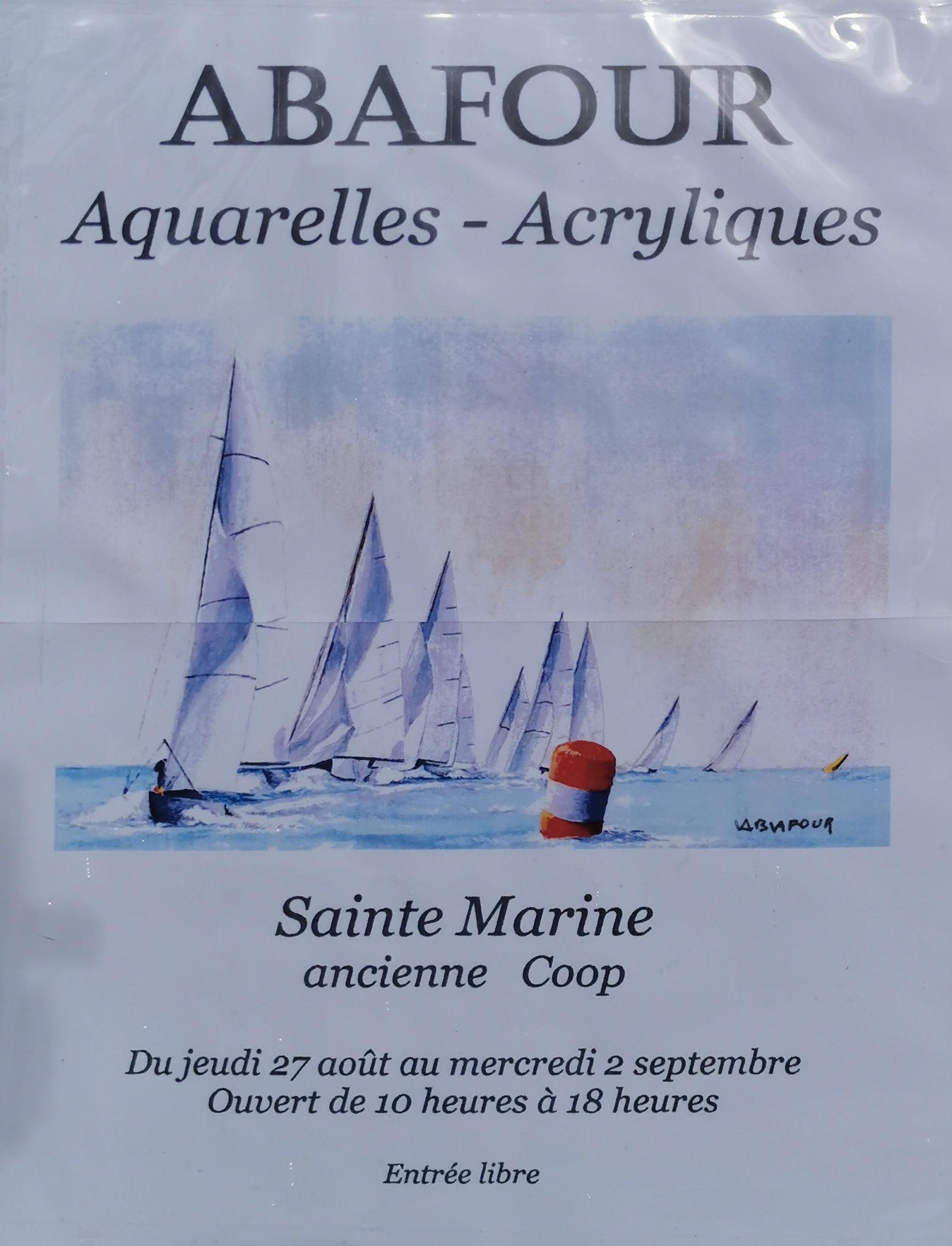 Exposition de Bernard Abafour