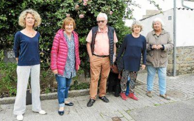Brigitte Le Gall-Le Berre,Marguerite Léon, Jean-Yves Boudehen, Marine Vautier et Marie-Anne Montreuil ont lancé un projet de publication d'un livre