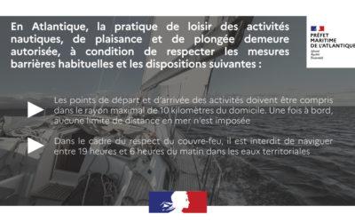 consignes Préfecture Maritime